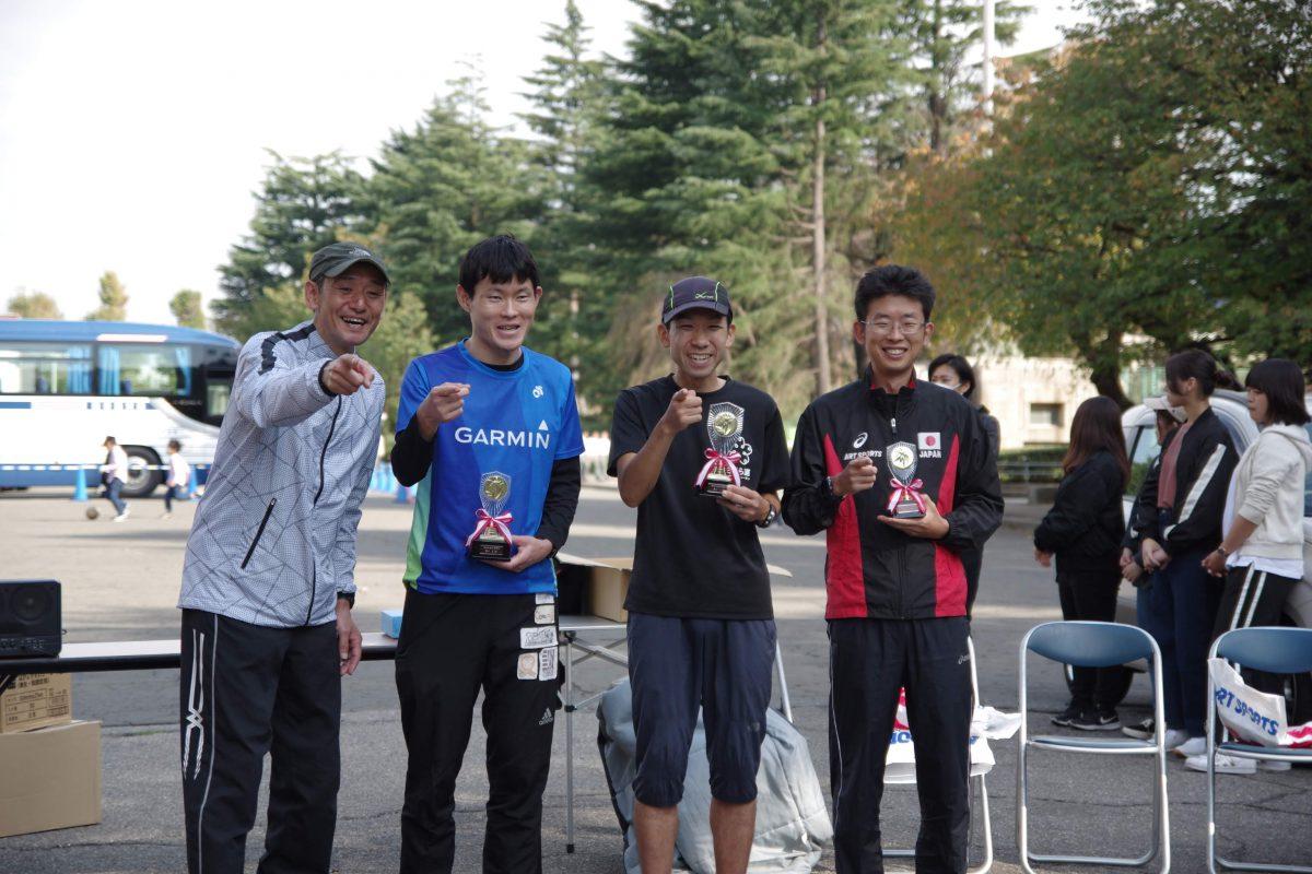 代表の小谷が神宮外苑24時間走で255km3位入賞